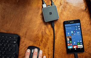 داک نمایشگرمایکروسافت گوشی رابه PCویندوز10 تبدیل میکند