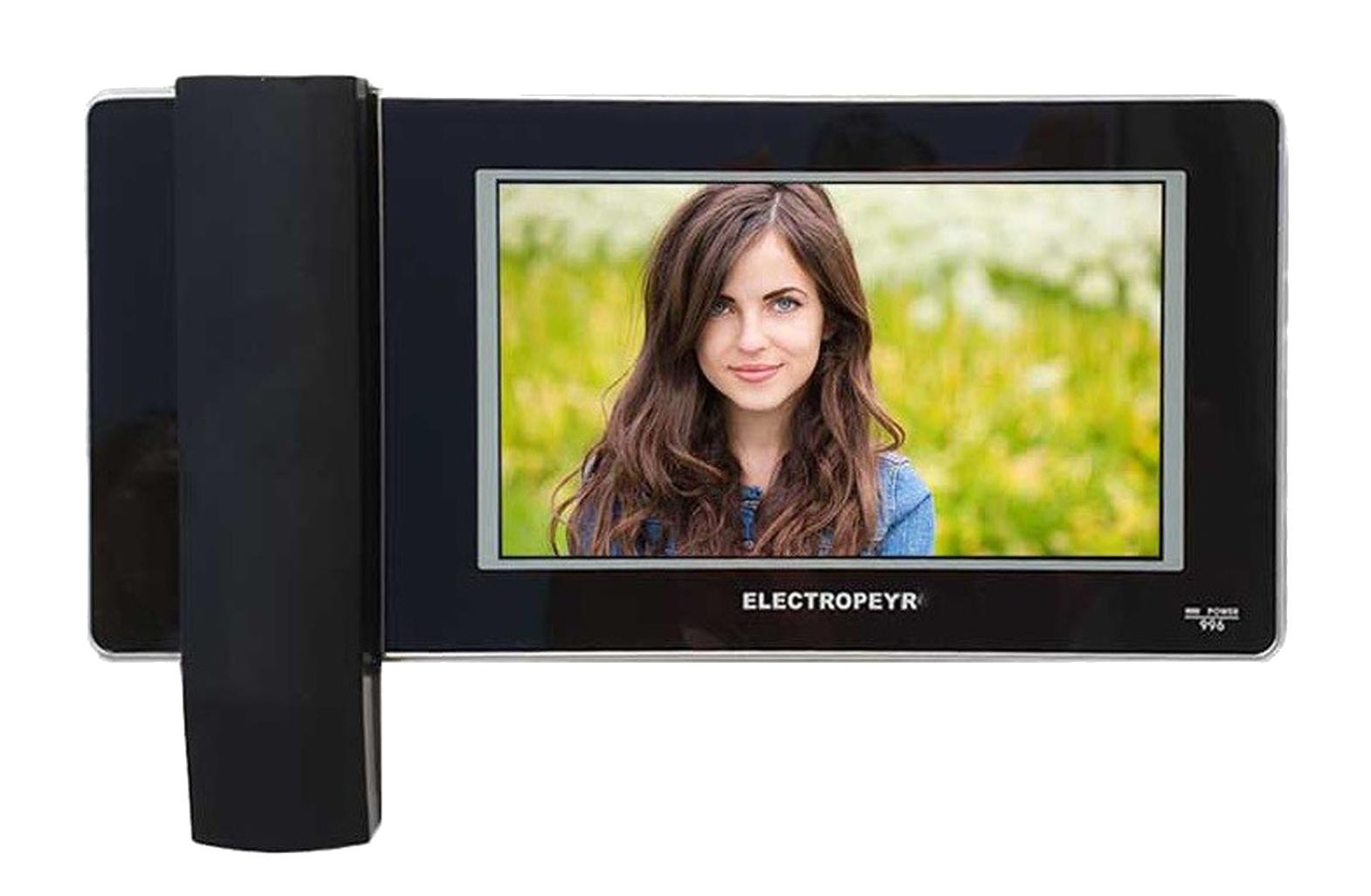 آیفون تصویری الکتروپیک مدل 996 یکی از بهترین و کامل ترین محصولات الکتروپیک است، این محصول با صفحه نمایش 7 اینچی تمام لمسی، امکان نمایش تصاویر با کیفیت بالا و در ابعاد مناسبی را فراهم می آورد. این آیفون با قابلیت باز کردن درب پارکینگ، فراخوانی آسانسور و امکان ضبط عکس و فیلم، می تواند پکیج کاملی برای شما باشد.