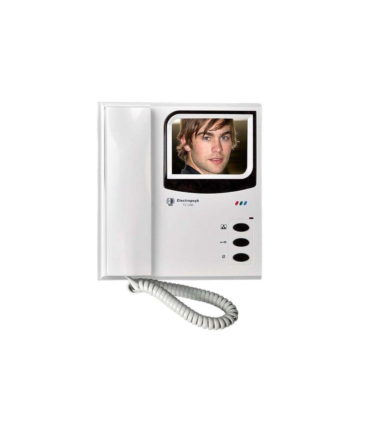 دارای صفحه نمایش 3.5 اینچ رنگی دکمه های فشاری زیر ال سی دی تک رنگ سفید بدون حافظه و قابلیت اتصال به یک پنل نصب سویچر هوشمند به دو پنل اتصال می یابد
